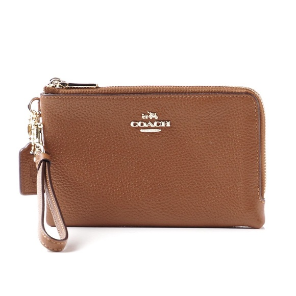 Coach 53090 Wrislet Wallet Double Zippered